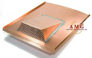 "German-Made Copper Air Vent ""Rocky Mountain"""