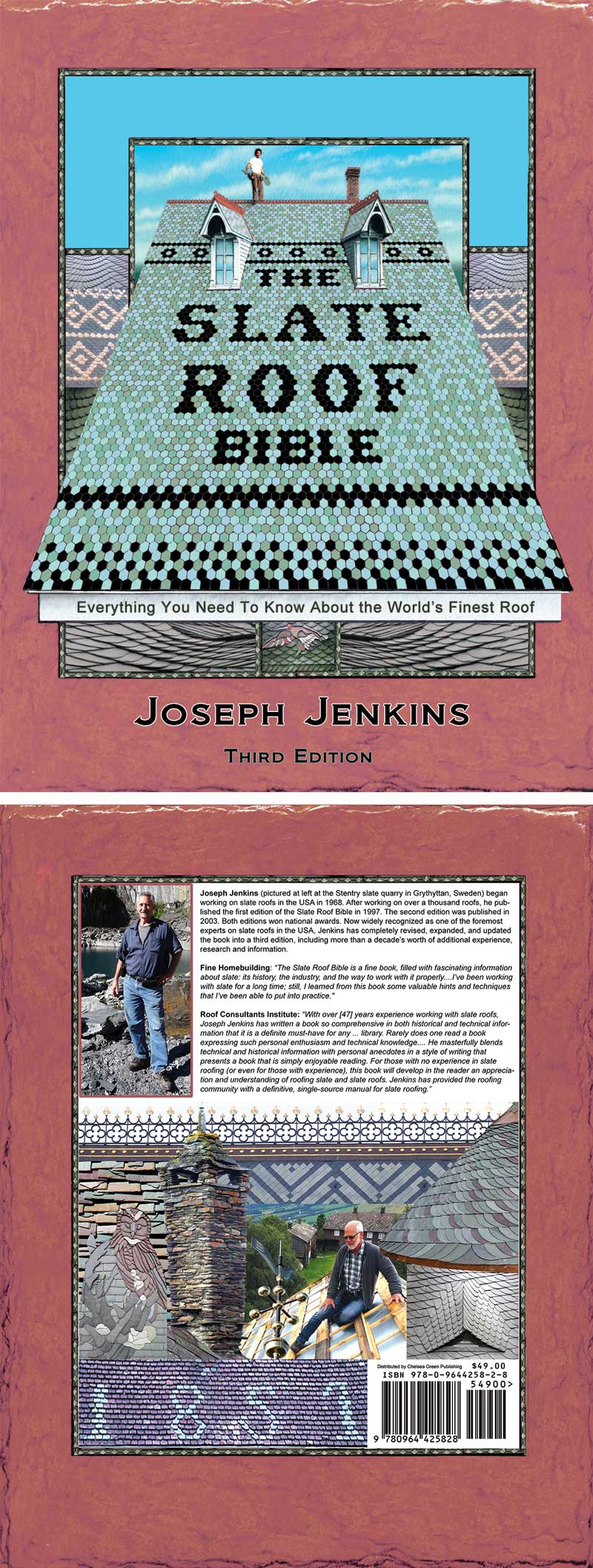 ... The Slate Roof Bible 3rd Edition By Joseph Jenkins ...