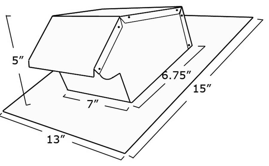 Salvo 503 Roof Vent Gt Roof Air Vents Gt Slate Roof Warehouse