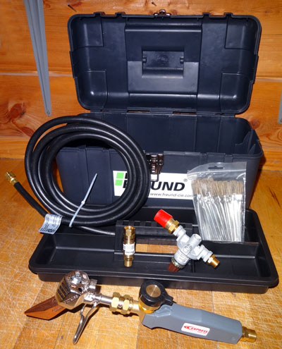 Propane Solder Kit Gt Soldering Devices Gt Slate Roof Warehouse