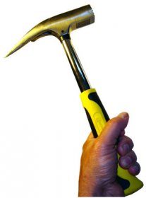 Yellow Slate Roof Restoration Hammer with Free Shipping