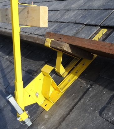 ACRO 12070 Steep Pitch Guardrail System Brackets & Posts