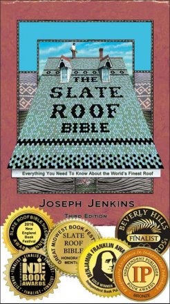 Slate Roof Bible, 3rd Edition with optional data stick - Free Shipping