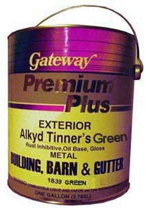 Paint for Roofers - Tinners Green - 4 Gallon Case